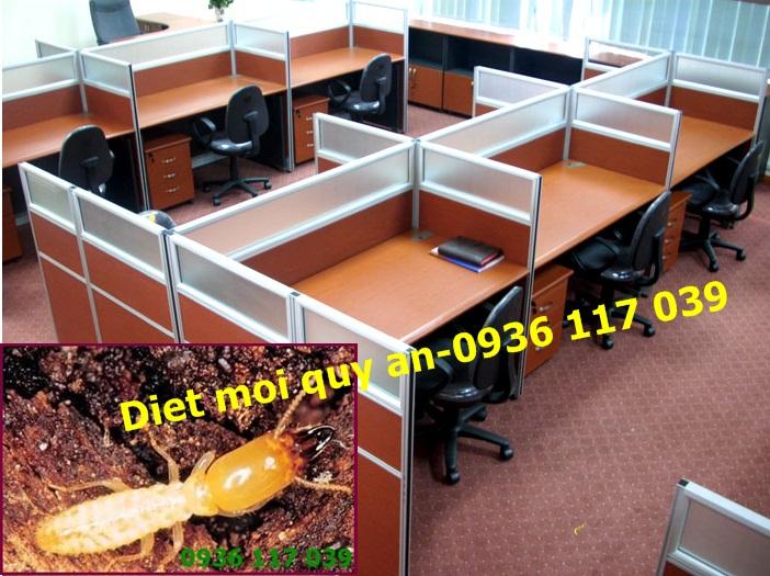 Cách xử lí mối nhanh chóng và hiệu quả tại tủ văn phòng công ty