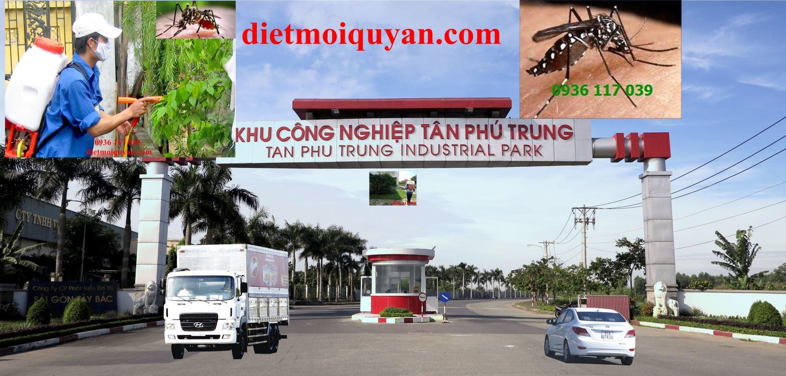Công ty  Phun muỗi hiệu quả ở tại kcn Củ chi