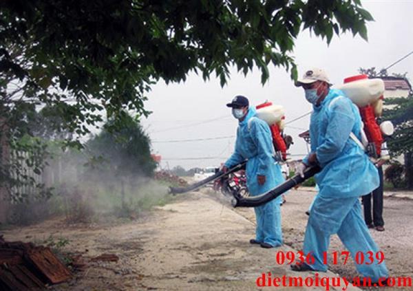 Dịch vụ phun thuốc diệt muỗi ở kcn Tân tạo giá rẻ