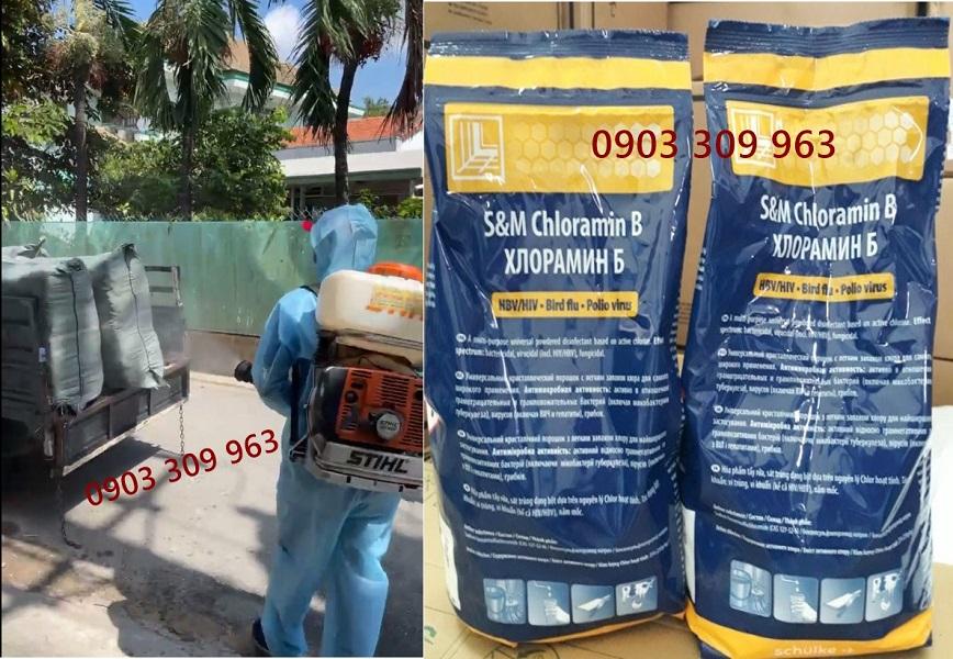 Công ty cung cấp thuốc xịt khử trùng cho các đơn vị