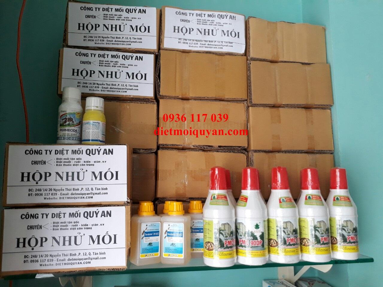 Cửa hàng bán thuốc diệt mối ở quận Tân bình TP.HCM