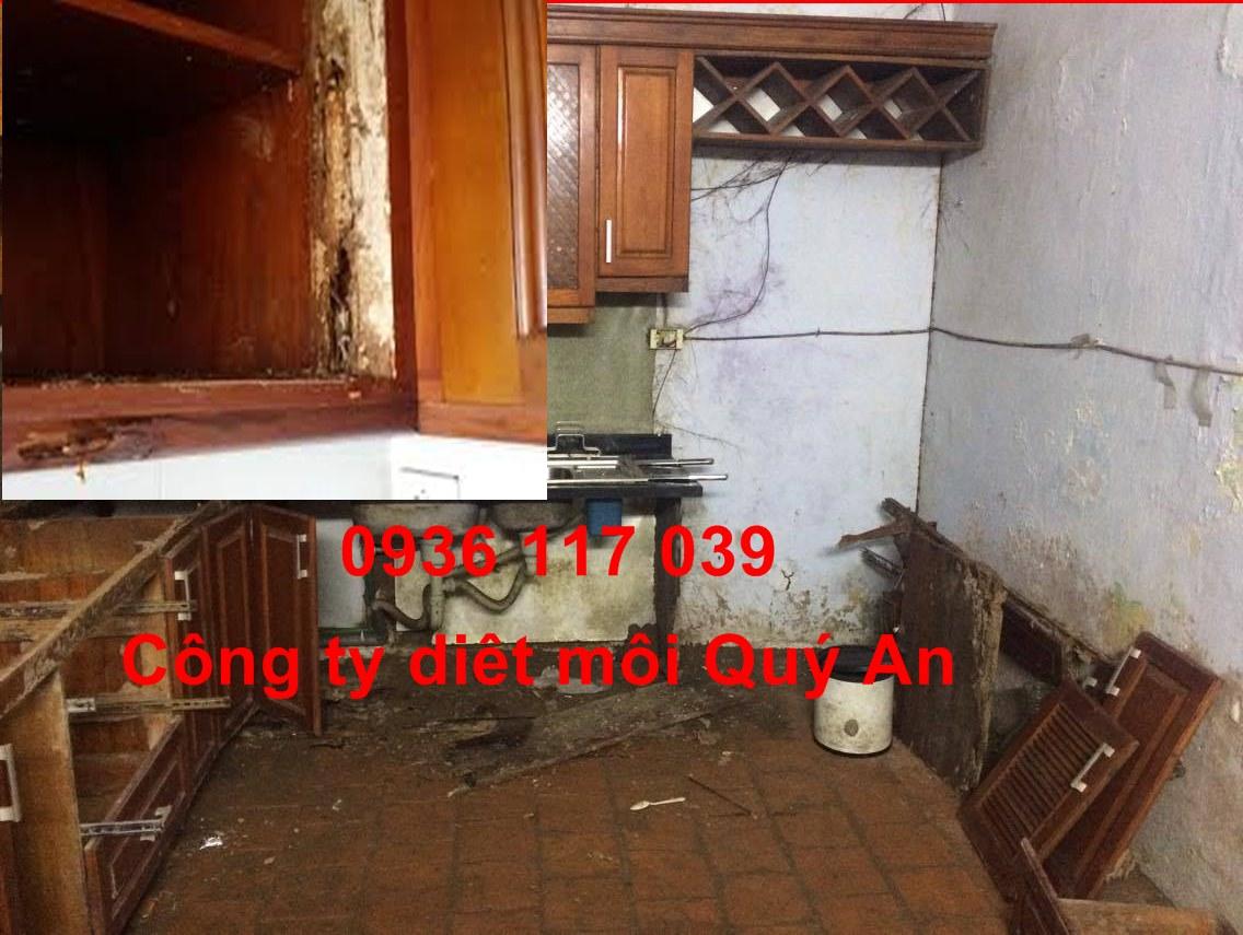 Chuyên nhận diệt mối cho tủ bếp tại quận 6