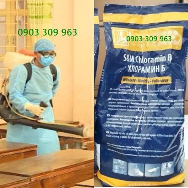 Phun thuốc khử trùng-phòng chống dịch Covid ở Bình Chánh